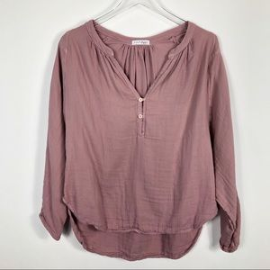 Free People x CP Shades Double Cloth Top Comfy